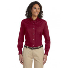 Ladies Van Heusen Long Sleeve Oxford