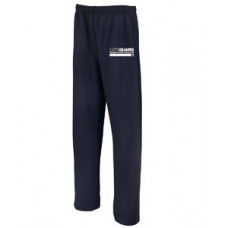 Men's Navy Straight-Leg Lifeguard Sweatpants