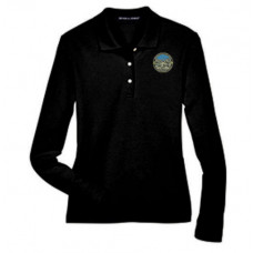 Womens Long Sleeved Polo