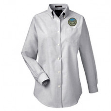 Womens Long Sleeved Oxford Shirt
