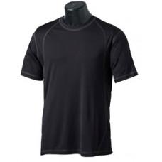 Men's Short-Sleeve Pieced Interlock T-Shirt