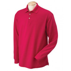 Long Sleeve Performance Pique Polo