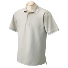 Men's Polo with embroidered TACOM logo